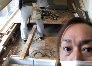 美容室解体工事開始🔧🔨MOCOより