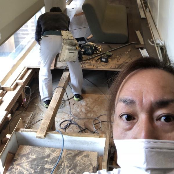 美容室解体工事開始🔧🔨MOCOよりサムネイル