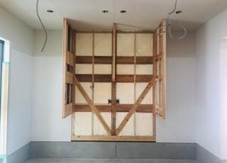 素敵な✨造り付け家具の工事中🔧🔨・・・MOCOより