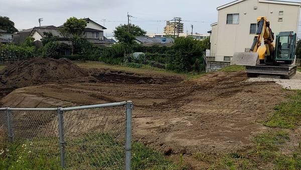 アパート 造成工事開始サムネイル